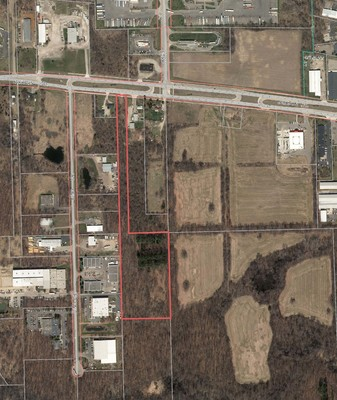 10 Acres for Sale in Ann Arbor - Master Planned Highway Commercial